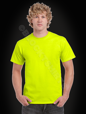 Neon Yellow Men's T-Shirt